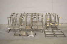 Lot of (13) Stainless Steel Lab