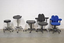 Lot of (5) Portable Lab Chairs