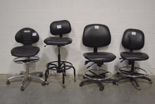 Lot of (4) Armless Lab Chairs