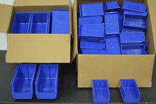 Lot of Blue Heavy Duty LinBins