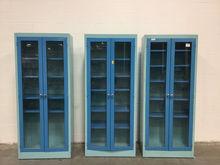 Lot of (3) Glass Door Casework