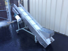 "12"" x 8' Cleated Incline Convey"