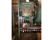 Minster B1-32, 32 ton OBI press