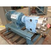 Used S/S Lobe Pump,