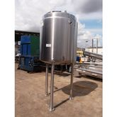 Stainless Steel Jacketed Tank,