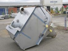 Powder Hopper, 2 Cu Mtr, 1100mm