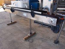 Slat Conveyor, 3400mm L x 190mm