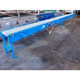 Flat Belt Conveyor, 7950mm L x