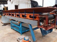 Flat Belt Conveyor, 5800mm L x