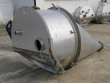 Powder Hopper, 2 Cu Mtr, 1300mm