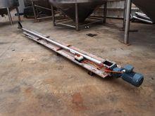 Tubular Screw Conveyor, 75mm Di