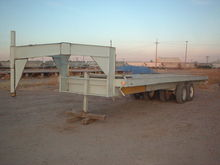 24' Flatbed Trailer; Tandem Axe