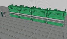 1400 Ton x 50 foot Niagara Mode