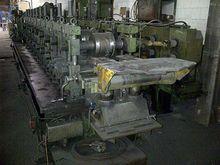 1981 Strip Profiling Plant Drei