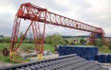 1971 Portal-Bridge-Crane AUMUND