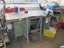 Workbench steel / wood # 71830