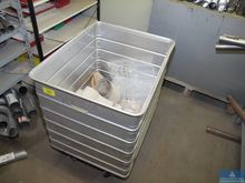 Aluminum box with casters ZARGE