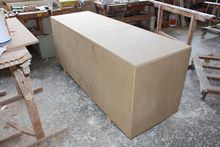 Wooden box made of chipboard #
