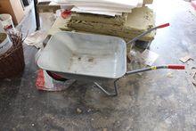 Wheelbarrow galvanized # 74036