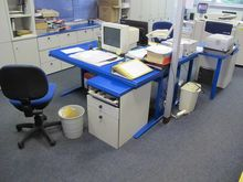 Office furniture blue # 58058