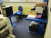 Office furniture blue # 58059