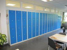 Locker lockers blue / gray # 59