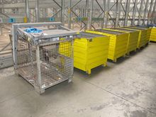 Steel containers yellow # 59477