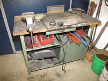 Workbench steel / wood # 59506