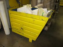 Steel containers yellow # 59568
