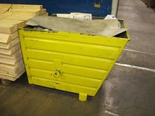 Steel containers yellow # 59573