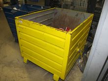 Steel containers yellow # 59633