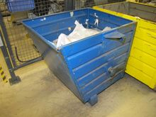 Steel containers blue # 59634