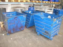 Steel containers blue # 59686