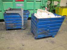 Steel containers blue # 59713