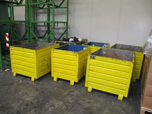 Steel containers yellow # 59715