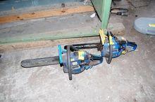 Petrol chainsaws 2 St. # 62035