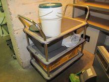 Shelved trolley metal # 62149