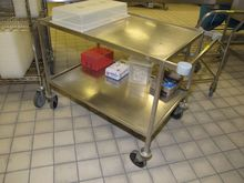 TROLLEY Stainless Steel # 62216