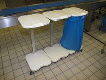 Garbage bag holder plastic / al