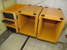 Thermal transport container RIE