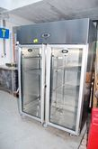 Stainless steel double fridge F