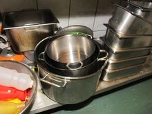 Cooking pots stainless steel #