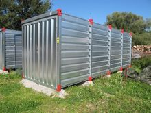Storage containers galvanized #