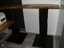 Bar table Solid wood presumably