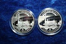 Silver commemorative coins 10 #