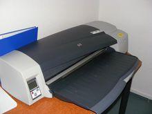 Large format color printer HP D