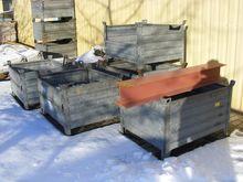 Stack boxes SCHAEFER galvanized