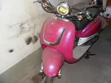 Scooter without inscription # 6
