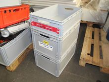 Plastic stacking boxes AUER # 6