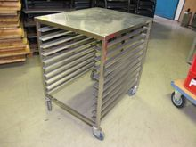 Trolley stainless steel # 67033